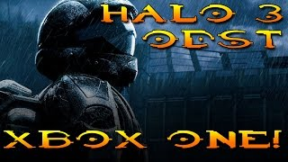 Halo 3 ODST-XBOX ONE Gameplay 1080p /60 fps-Part 1 (Introduction)