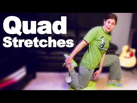 Video Quadriceps Stretches for Tight or Injured Quads - Ask Doctor Jo