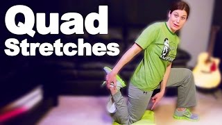 Quadriceps Stretches for Tight or Injured Quads - Ask Doctor Jo