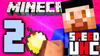 Minecraft SPEED UHC #2 - Ultra Hardcore with Vikkstar & PeteZahHutt