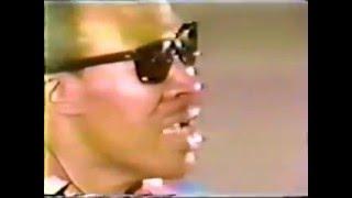 Bluesman Jimmy Reed in Houston 1975