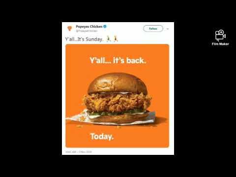 Popeye chicken sandwich madness grips America,