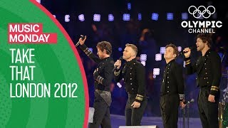 Take That - London 2012 Performance | Music Monday