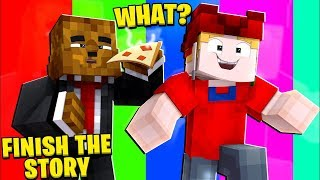 MY FRIENDS ARE CRAZY - MINECRAFT FINISH THE STORY W/ TEWTIY | JeromeASF