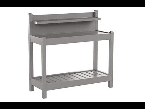 Dura-Trel 11203M Greenfield Potting Bench, Mocha - Overview