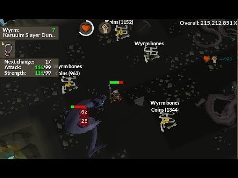 Wyrm Slayer Guide (Supply Efficient for Ironmen) OSRS - Iron Life