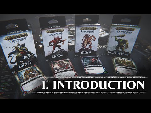 Tutorial 1 - Introduction (Warhammer Age of Sigmar: Champions)