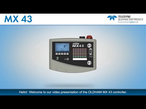MX 43 SIL1 Certified Gas Detection Controller