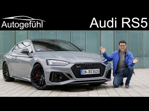 Audi RS5 Coupé FULL REVIEW 2020 with Autobahn test - Autogefühl