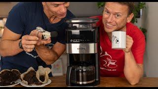 Kaffeemaschine mit Mahlwerk im Test: Krups Grind Aroma