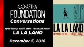 Conversations With Ryan Gosling Emma Stone And Rosemarie DeWitt Of LA LA LAND