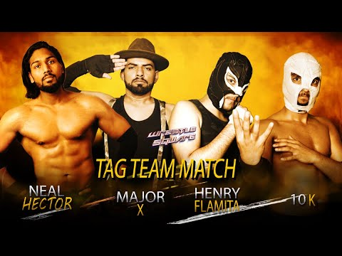 Neal The Hector / Major-X vs Max Luchas [Wrestle Square Pro Wrestling India - War EP10 pt2]
