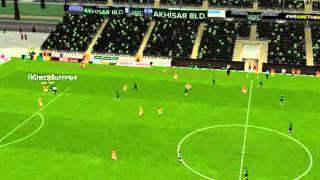 Akhisar Bld. 1 - 4 Galatasaray - Ma� �zetleri