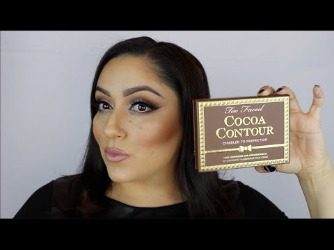 TOO FACED Cocoa Contour : HOW-TO, REVIEW, SWATCHES