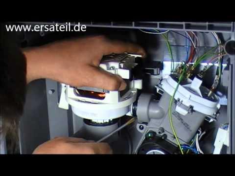 Umwälzpumpe Geschirrspüler reparaturanleitung