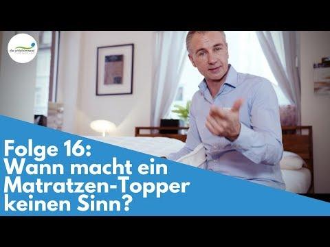Matratzen-Topper - Brauche ich einen? | Folge 16