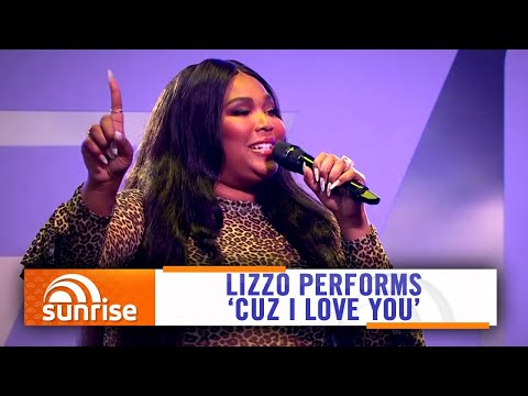 Lizzo performs 'Cuz I Love You' on Australian TV | Sunrise