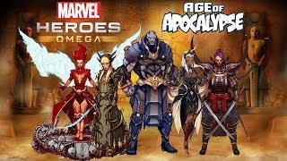 Marvel Heroes Omega - Age Of Apocalypse Live Stream News (Apocalypse and 4 Horsemen Art.Costumes)