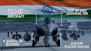 RAFALE | Indias Newest FIGHTER JET Is Loaded With SUPER COMBAT FEATURES | Tech Tak