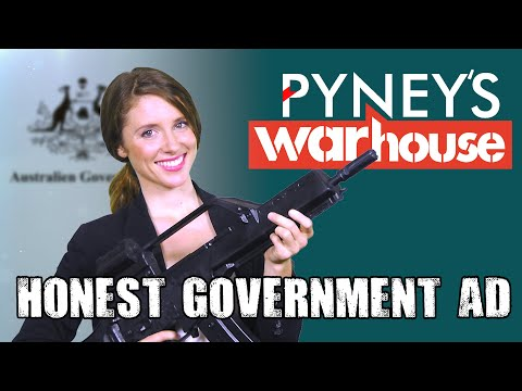 Honest Government Ad | Aussie Arms Industry
