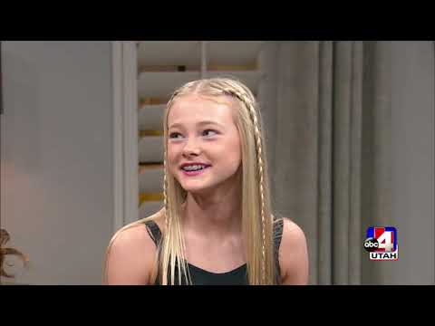 rylee arnold dwts junior interview on abc4 utah