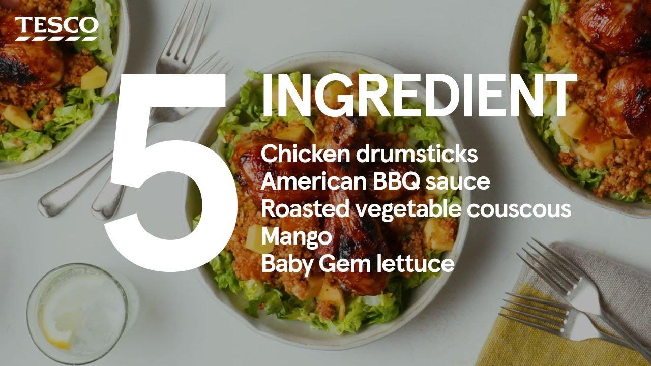 5-ingredient BBQ chicken drumsticks