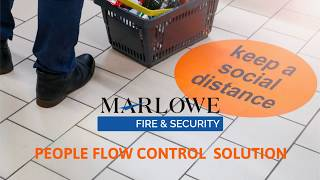 People Counting & Flow Control Solution Video