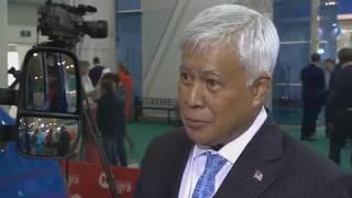 Генерал Азуми,Председатель Совета директоров Агентства кибербезопасности Малайзии на Инфофорум-Югра