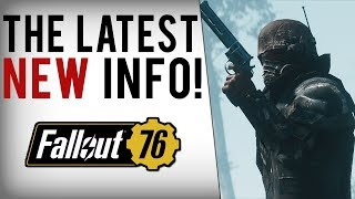FALLOUT 76 NEW INFO! Next Reveal, Trading, Recipes, CAMP Size, Player Interactions & More!
