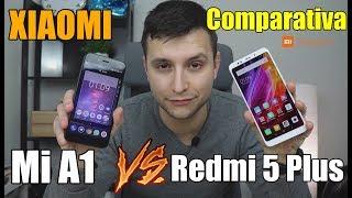 Comparativa Redmi 5 Plus vs Mi A1 - Diferencias y uso
