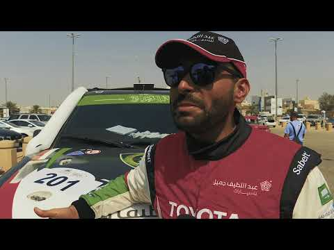 Yazeed Alrajhi & Michael Orr secure 1st place in Rally Al Qassim 2019