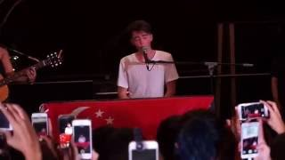 Back on the Wall - Greyson Chance Live @Singapore Rooftop Affair 2016