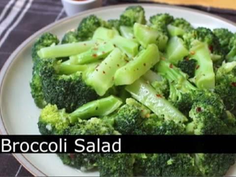 Video The Best Broccoli Salad - Garlic Lemon Chili Broccoli Salad Recipe : Foodwishes