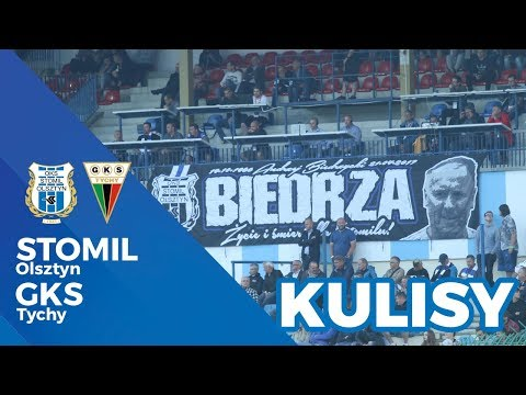 Kulisy meczu Stomil Olsztyn - GKS Tychy