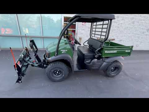 2021 Kawasaki Mule SX 4x4 FI in Glen Burnie, Maryland - Video 1