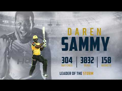 Daren Sammy | Leader of the Storm Retained for PSL 5
