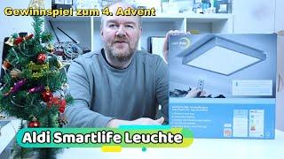 Aldi LED Smartlife Wand-/Deckenleuchte und Gewinnspiel zum 4.Advent