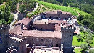 Engagement Wedding Video at Castello Di Amorosa, Napa Valley.