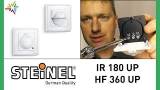 STEINEL IR 180 UP und STEINEL HF 360 UP [watt24-Video Nr. 102]