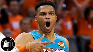 Russell Westbrook increases Rockets' title odds by 30% - Daryl Morey | BS or Real Talk | The Jump