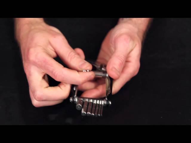 Видео Панель Birzman Chain Rivet Panel w/ Rivet Bits