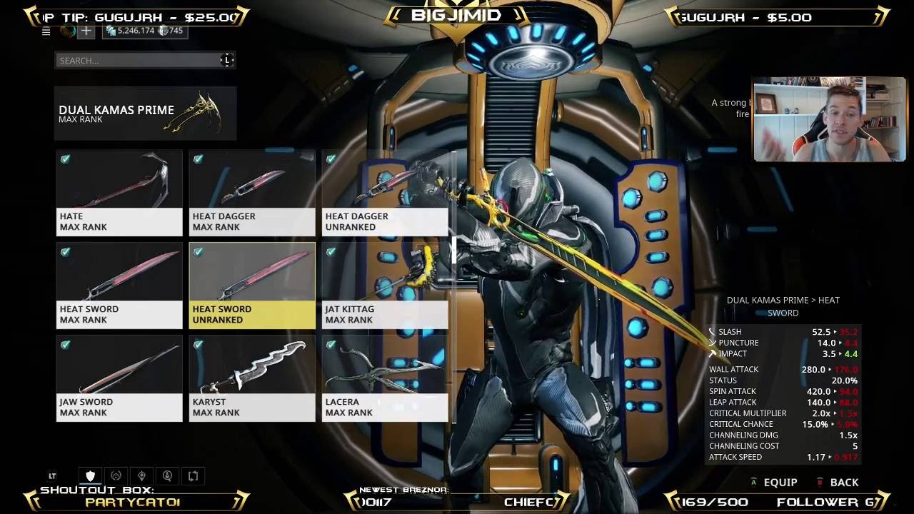 xbnrg warframe 170 platinum