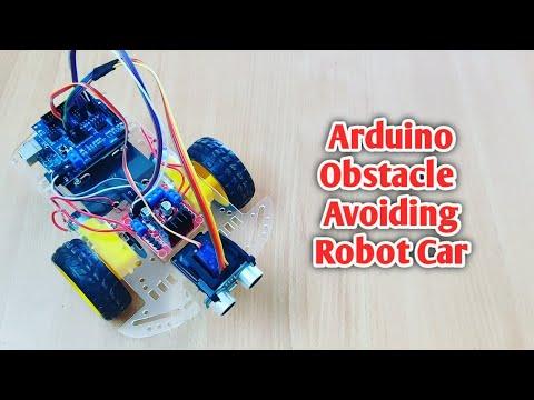 Arduino obstacle avoiding Robot car
