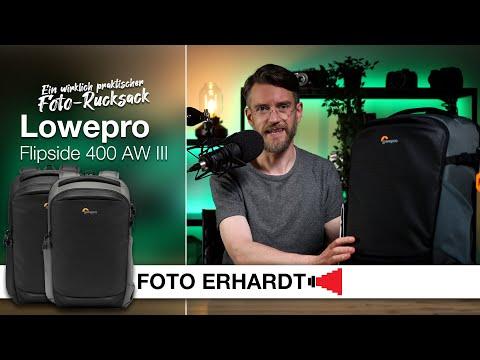 Vorgestellt: Der Foto-Rucksack Lowepro Flipside 400 AW III
