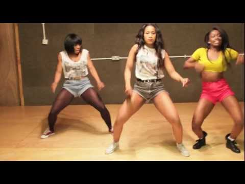 Official D'banj Oliver Twist Video Dancers Rehearsal - CEO Dancers