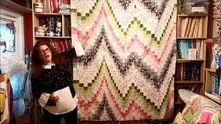 EPISODE 127 (1) ~ Introduction To BARGELLO QUILTING - Part 1