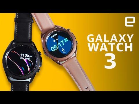 External Review Video BhuqInmoIRc for Samsung Galaxy Watch3 Smartwatch