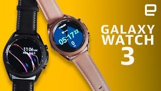 Samsung Galaxy Watch3: Classic style, familiar guts