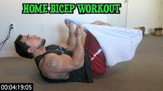 Intense 5 Minute At Home Bicep Workout by Anabolic Aliens