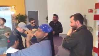 Hotel Jam Musicos De Romeo - Mexico (Romeo Santos Vol.2 Tour) 2014